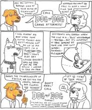 Alex Gross--Dog & Dog