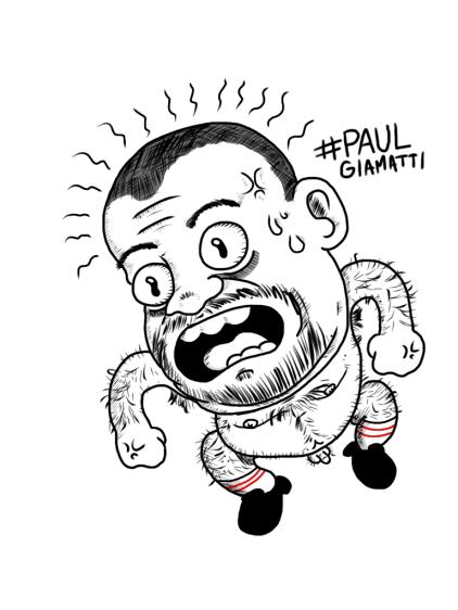 Alex Gross--Paul Giamatti