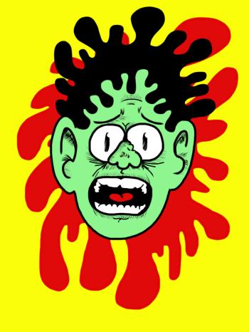 Alex Gross--Zombie